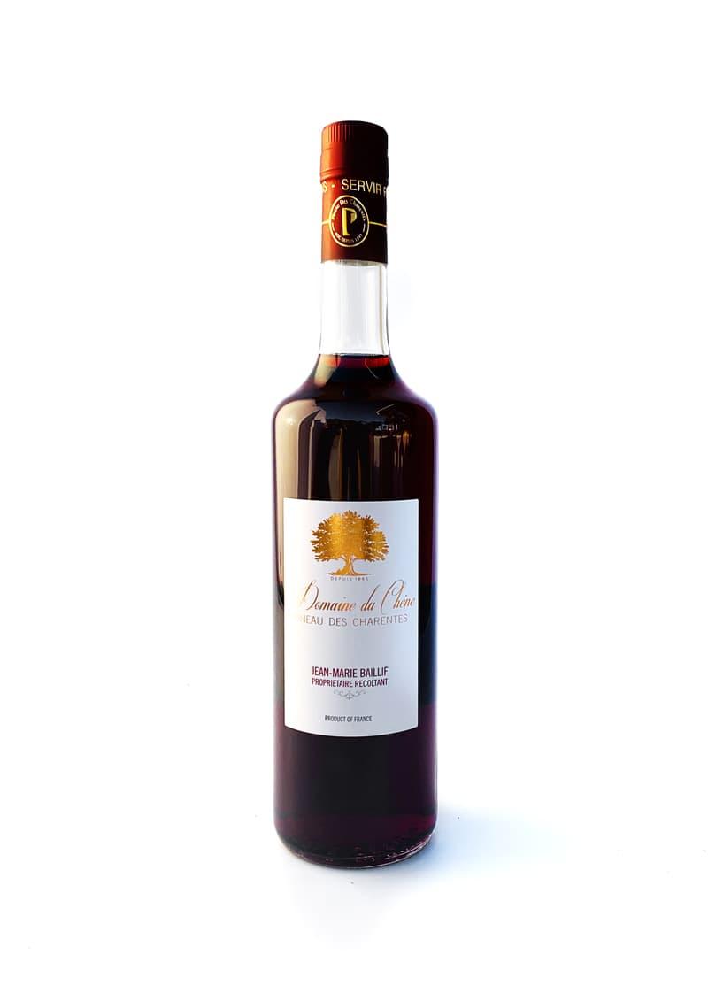 Pineau des Charentes Rouge - Le Domaine du Chêne